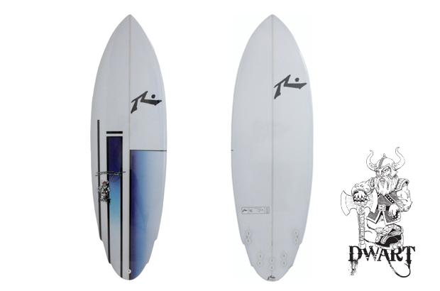 prancha de surf rusty dwart