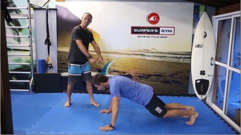 Treinamento funcional para surf em casa