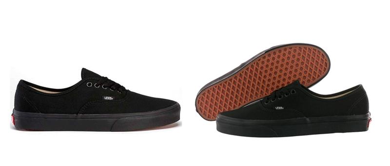 Tênis Vans Classic U Authentic Black Black