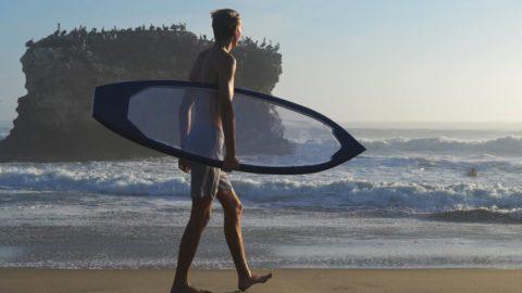 Prancha de Surf Transparente