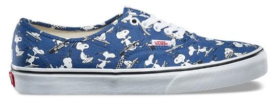 Tênis Vans X Peanuts Authentic Snoopy Skating