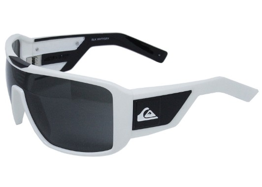 Óculos De Sol Quiksilver Mackin White Black