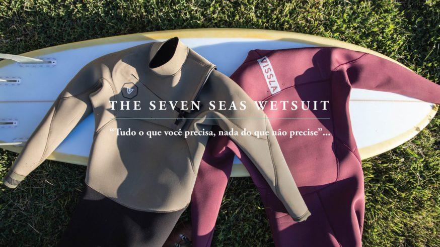 Lançamento Wetsuits Vissla Seven Seas na Surf Alive Perdizes
