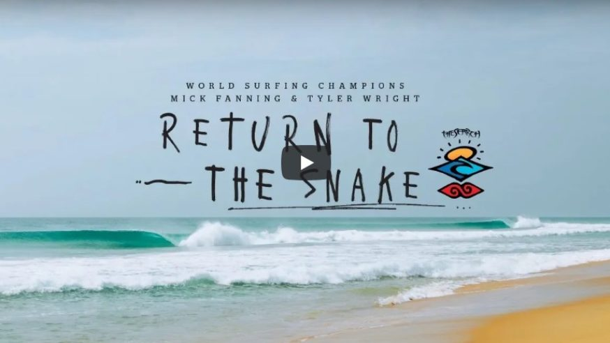 Mick Fanning e Tyler Wright juntos no The Search