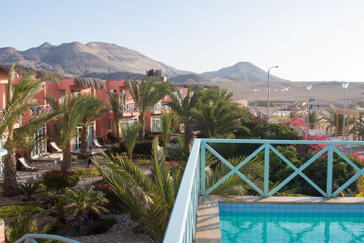 Vista do Chicama Boutique Hotel e Spa.