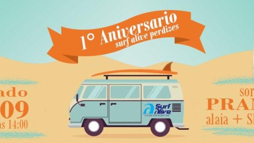 Aniversário de 1 ano agita Surf Alive Perdizes