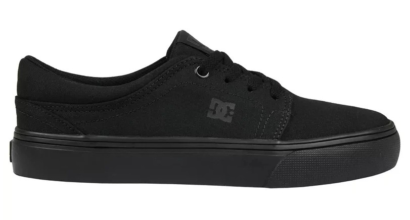 TÊNIS DC SHOES TRASE TX ALL BLACK