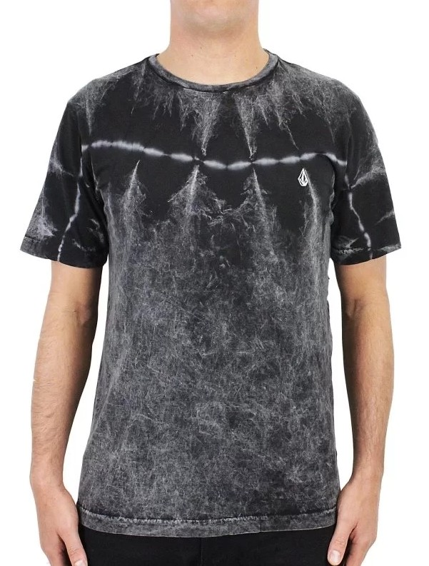 CAMISETA VOLCOM ESPECIAL DIRTY WASH TIE DYE BLACK