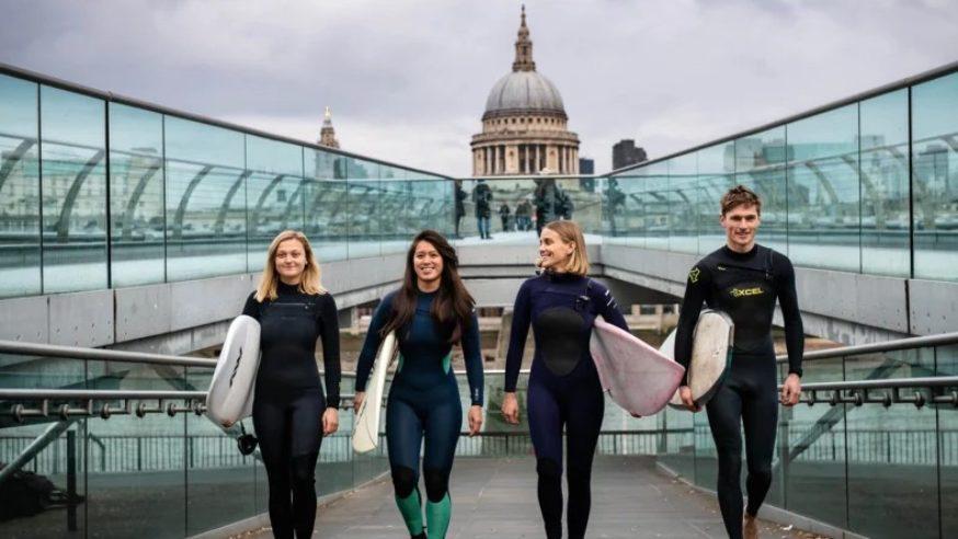 Piscina de Ondas Será Construída em Londres