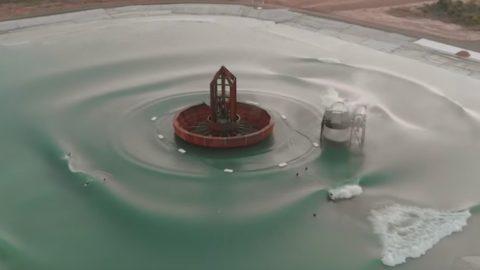 Occy fala da sua piscina de ondas!