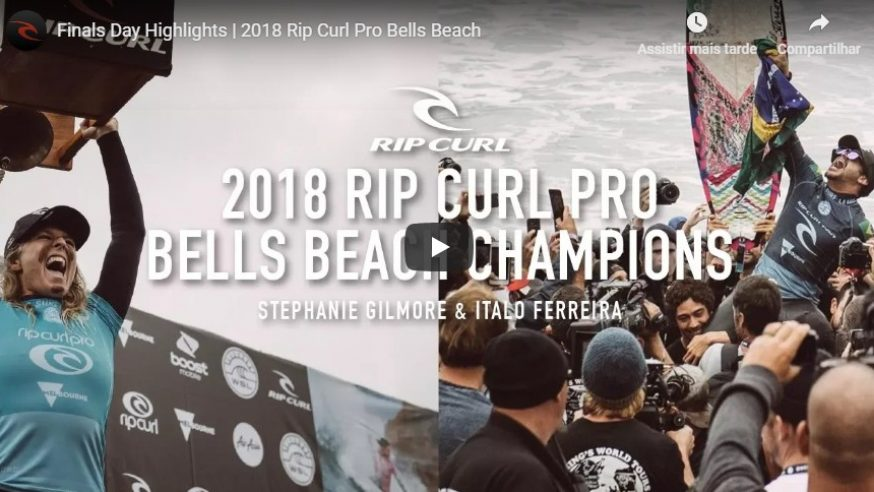 WSL anuncia baterias do Rip Curl Bells Beach