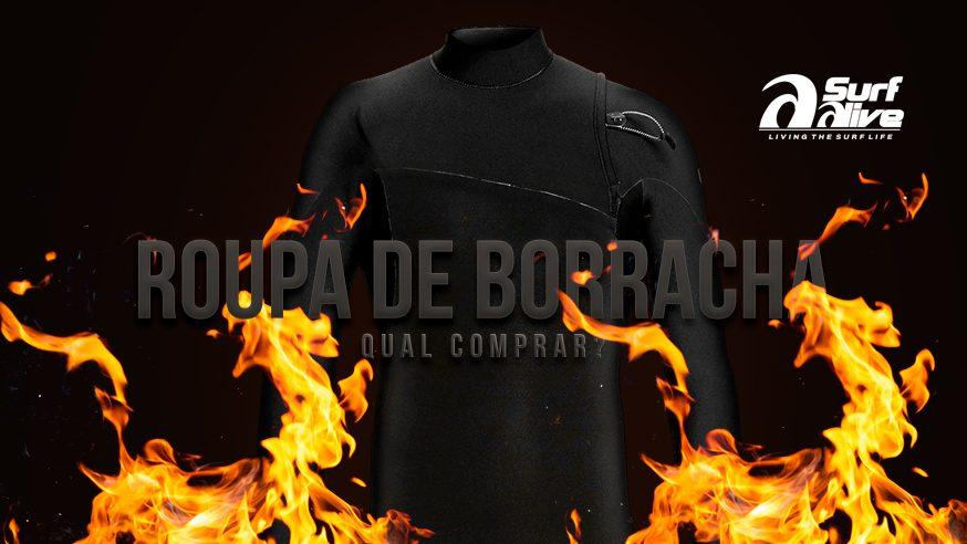 ROUPA DE BORRACHA: qual wetsuit devo comprar?